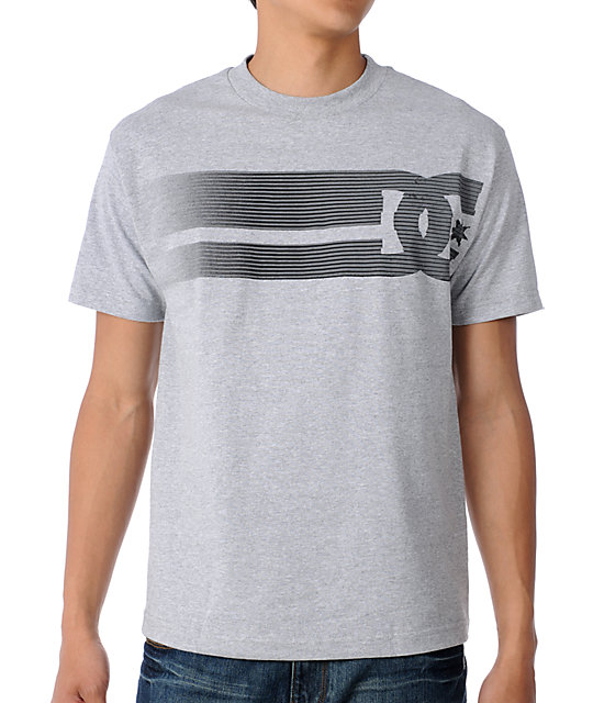 DC Lay Back Grey T-Shirt