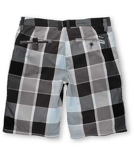 DC Lemay Black & Blue Shorts