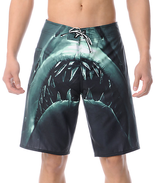 DC Lunchmeat 21 Black Board Shorts