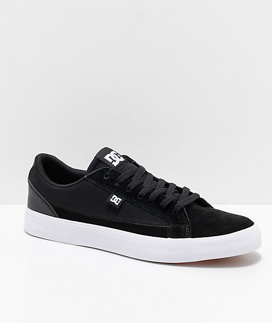 DC Lynnfield S Black & White Skate Shoes