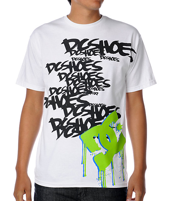 DC Oh Block White T-Shirt