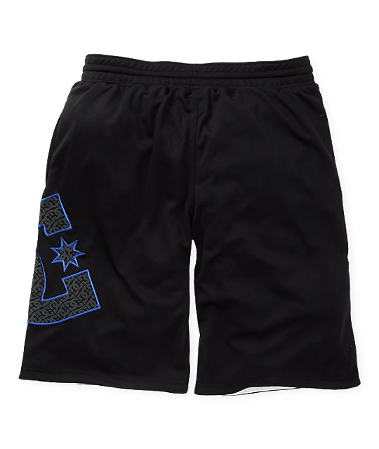 DC One Up Black Reversible Basketball Shorts