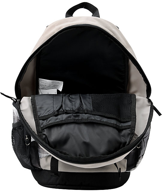 DC Parkston 2 Grey Skate Backpack