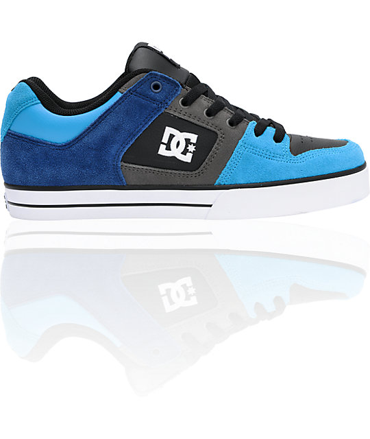 DC Pure Estate Blue, Turquoise & Battleship Shoes