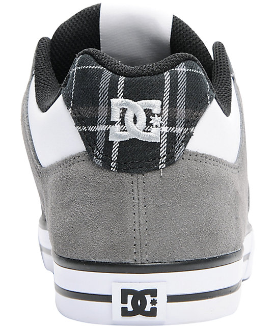 DC Pure XE Battleship & Black Skate Shoes