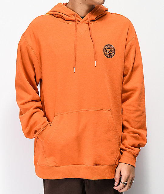 DC Rebel Puffin's Bill Orange Hoodie