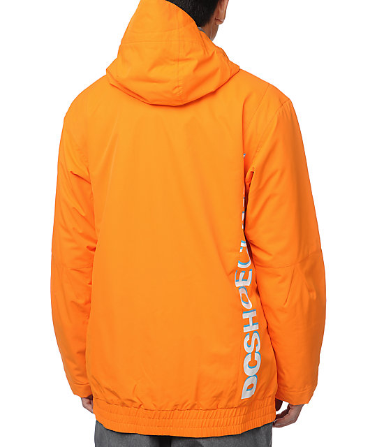 DC Ripley 10K Orange Snowboard Jacket