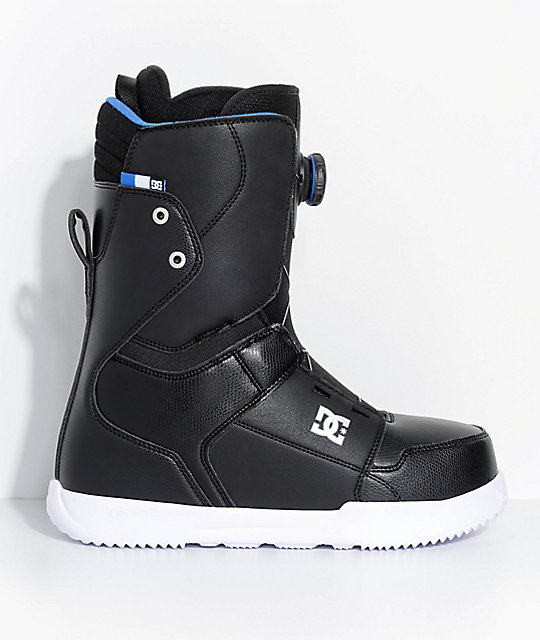 DC Scout Black Boa Snowboard Boots