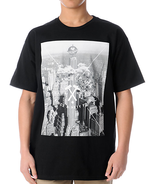 DC Shoes Worldly Black T-Shirt
