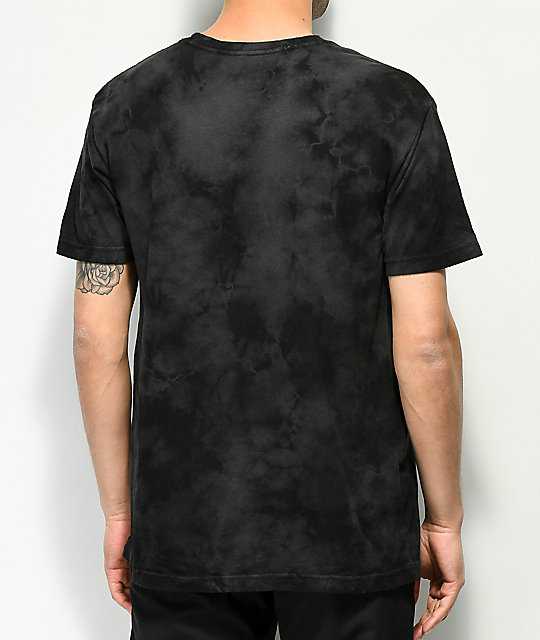 DC Single Star Black Tie Dye T-Shirt