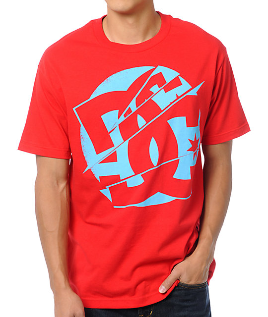 DC Splice Red T-Shirt