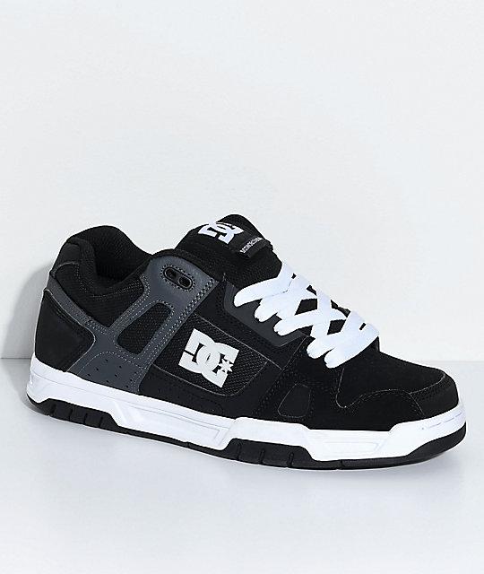 Amp; Skate Stag Grey A8fiqti Zumiez Blanches Chaussures De Black Dc 4dqPwY