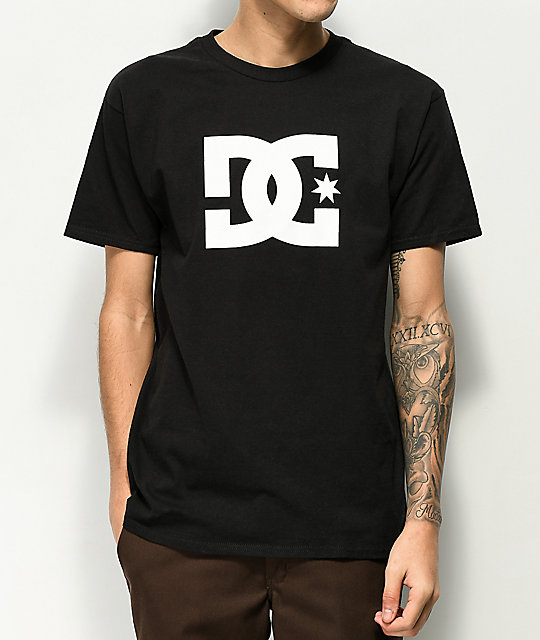 DC Star Black T-Shirt  5b742a046237b
