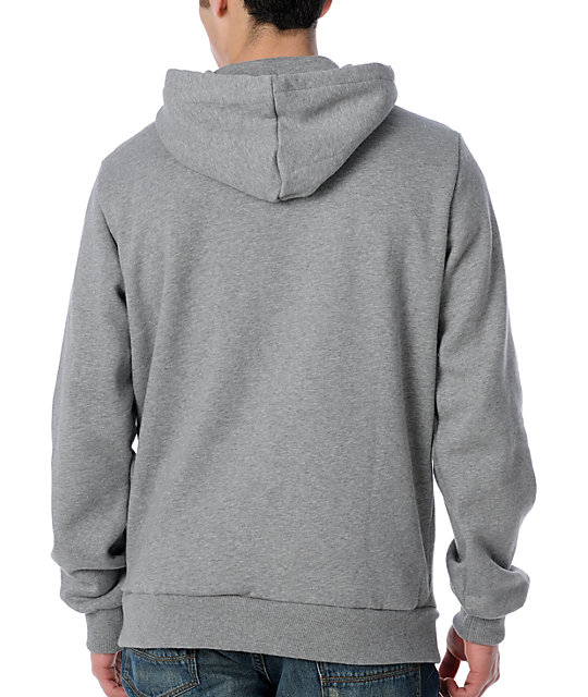 DC Star Grey Pullover Hoodie