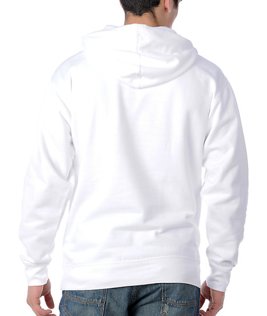 DC Star Ph1 White Pullover Hoodie