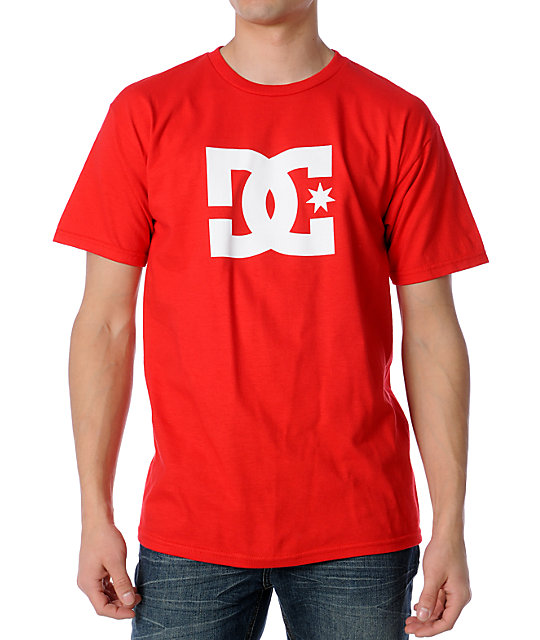 DC Star Red Skate T-Shirt