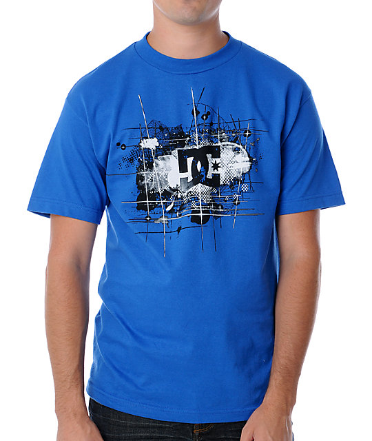 DC Starscream Royal Blue T-Shirt