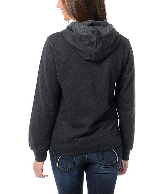 DC T-Star Charcoal Grey Hoodie