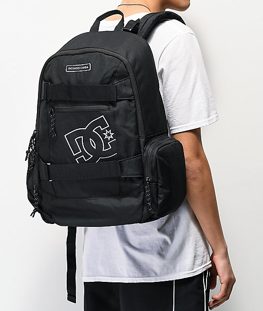 DC The Breed mochila negra