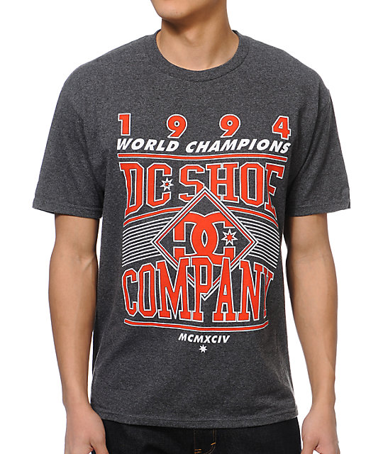 DC Touchback Charcoal T-Shirt