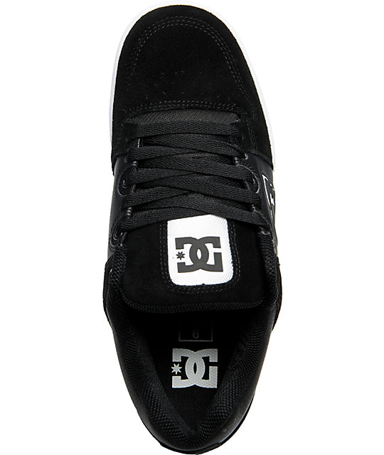 DC Turbo Black & White Shoes