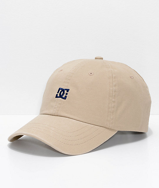 DC Uncle Fred Khaki Strapback Hat