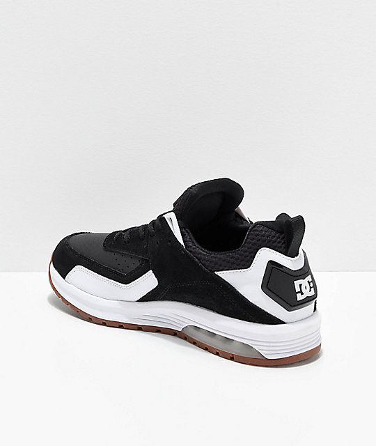 DC Vandium SE Black & White Shoes