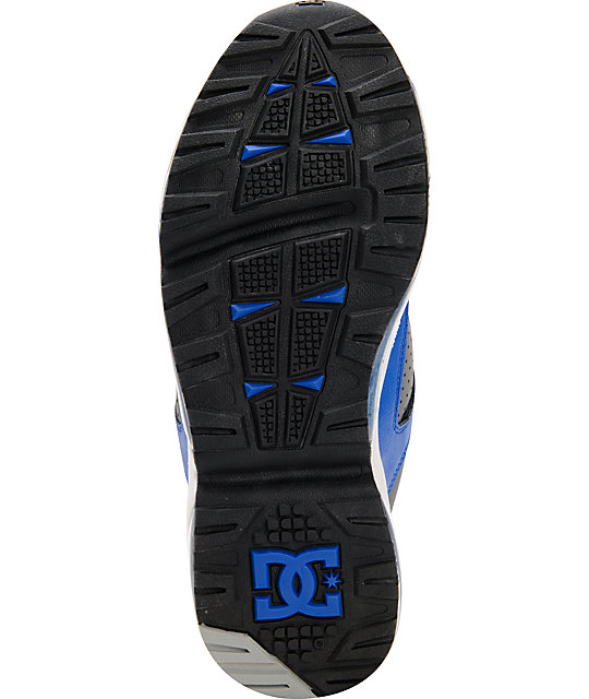 DC Versaflex Black, Royal & Battleship Skate Shoes