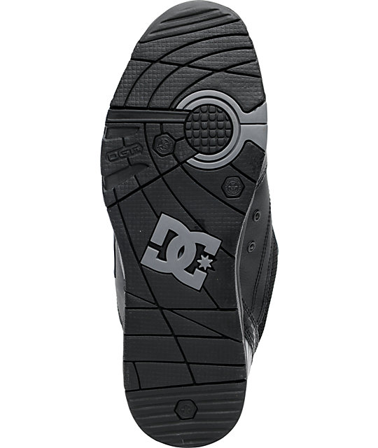 DC Versatile All Black Shoes