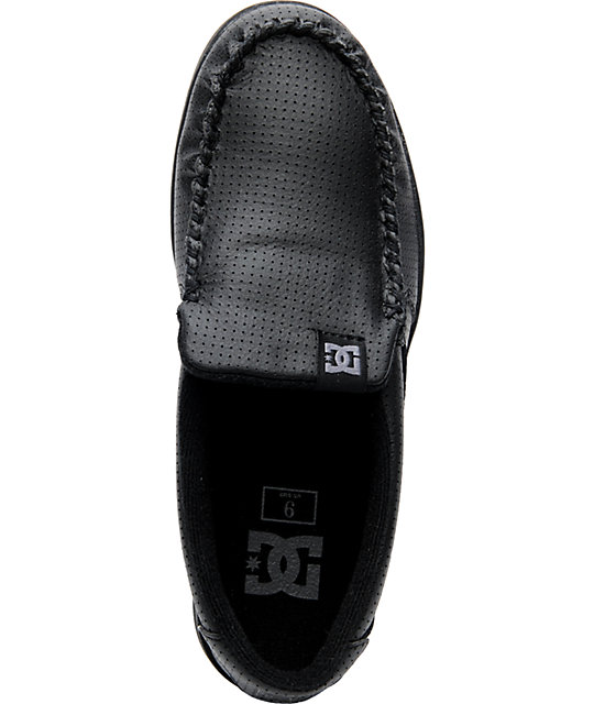 DC Villain Black Battleship Slippers