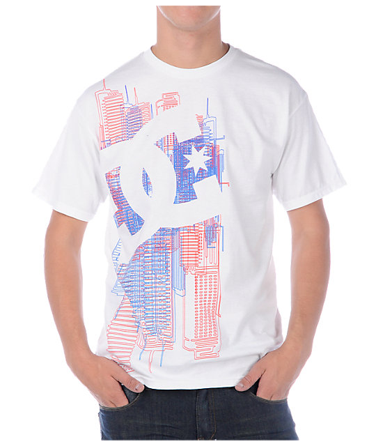 DC We Built This City White T-Shirt