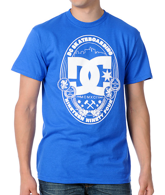 DC Wrapped Up Blue T-Shirt