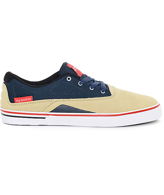 DC x Big Brother Sultan S SE Pale Banana Skate Shoes