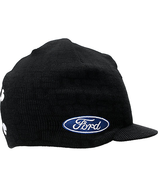 DC x Monster Energy Ken Block TW Ford Visor Beanie