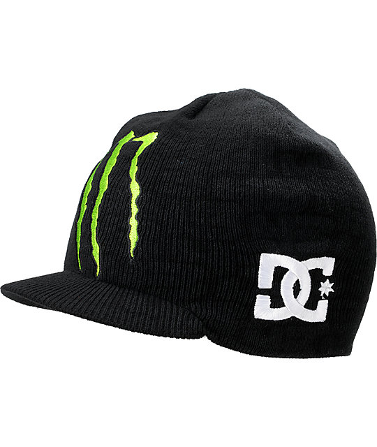 707a0529104 DC x Monster Ken Block TW Ford Visor Beanie