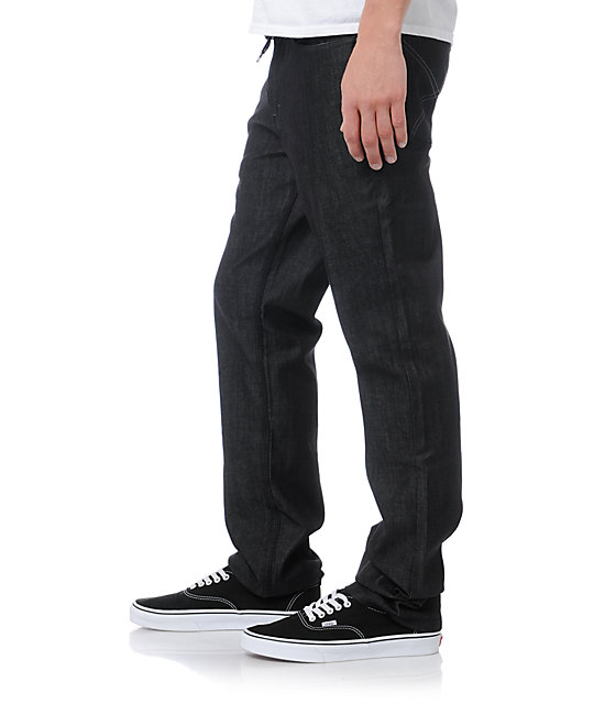 DGK All Day 2 Black Relaxed Fit Jeans