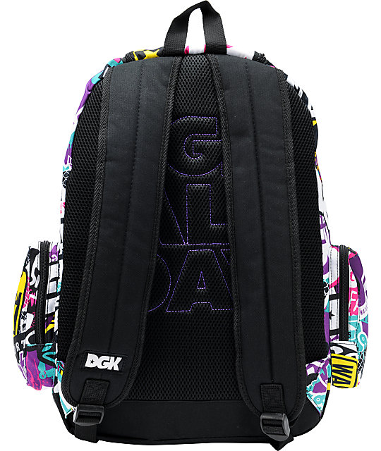 DGK All Day 2 Collage Laptop Backpack