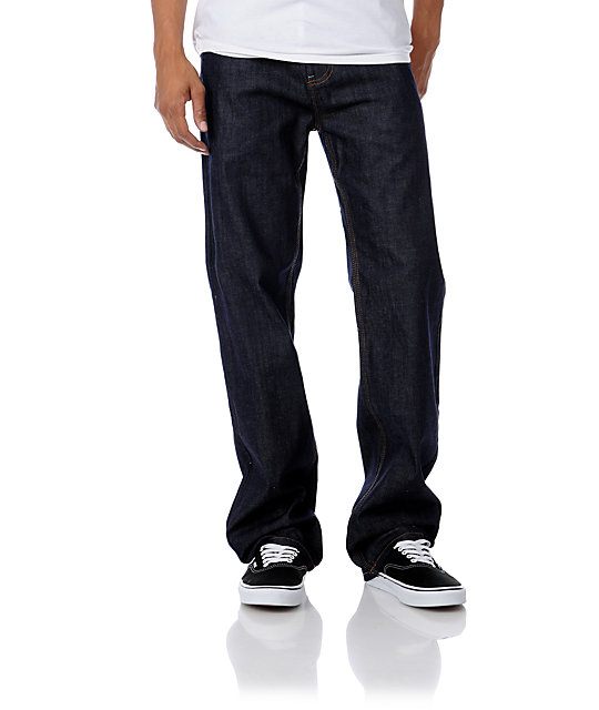DGK All Day 2 Indigo Blue Relaxed Fit Jeans