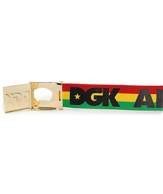 DGK All Day 2 Scout Rasta Belt