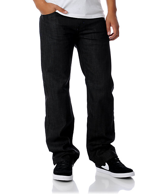 DGK All Day Black Relaxed Fit Jeans