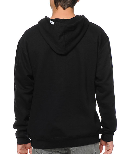 DGK All Night Black Pullover Hoodie