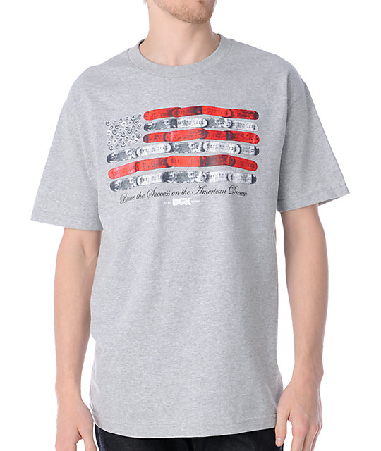 DGK American Dream Grey T-Shirt