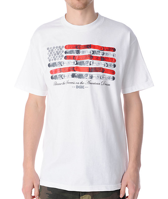 DGK American Dream White T-Shirt
