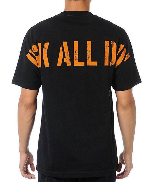 DGK Assault Black T-Shirt