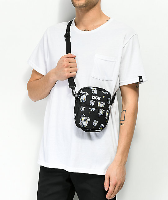 DGK Blessed Black Shoulder Bag