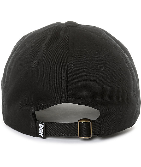 DGK Blessed Black Strapback Hat