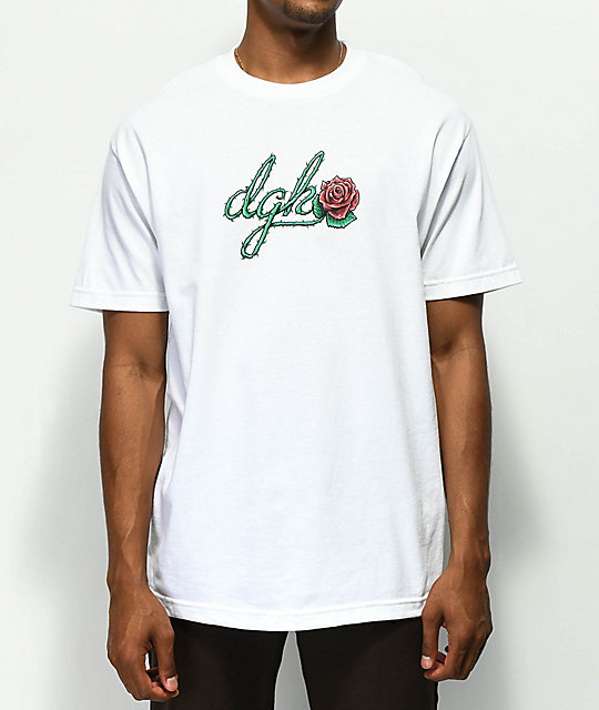 DGK Bloom White T-Shirt