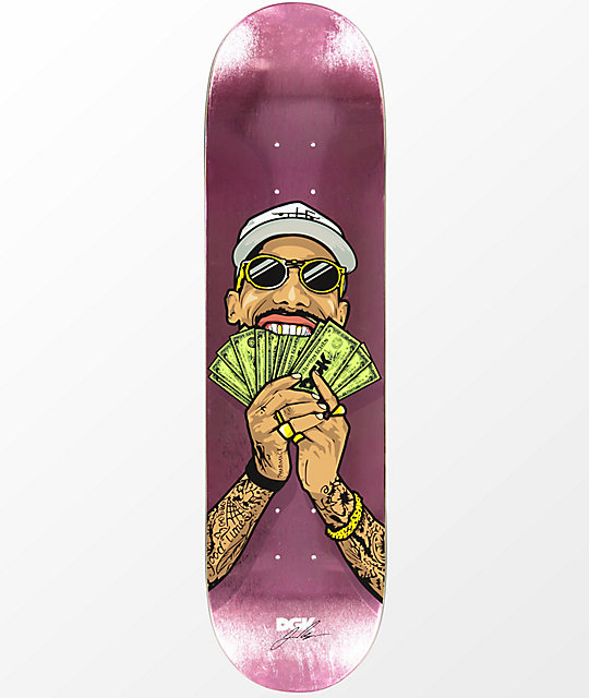 DGK Boo Money Fan Foil 8.25