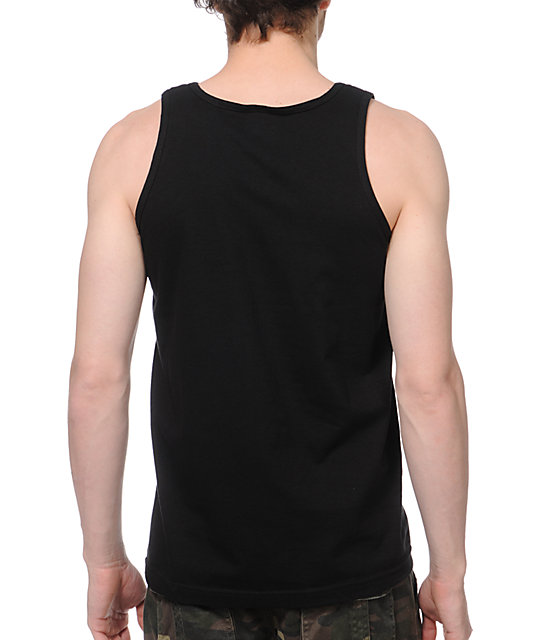 DGK By Any Means Black Tank Top