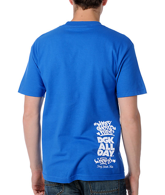DGK Clean 2 Blue T-Shirt